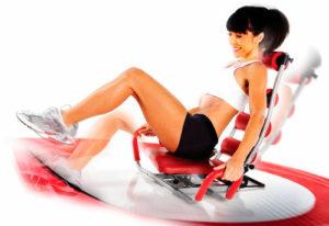 Equipamiento para los ejercicios abdominales